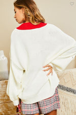 Lovely Lady Sweater - Red