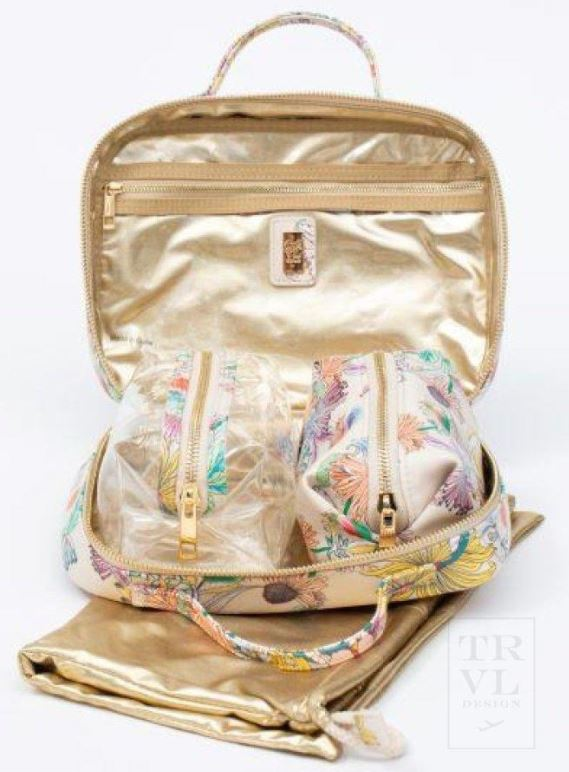 Luxe Travel Case - Floral Botanica