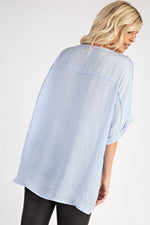 The Mara Top - Light Blue