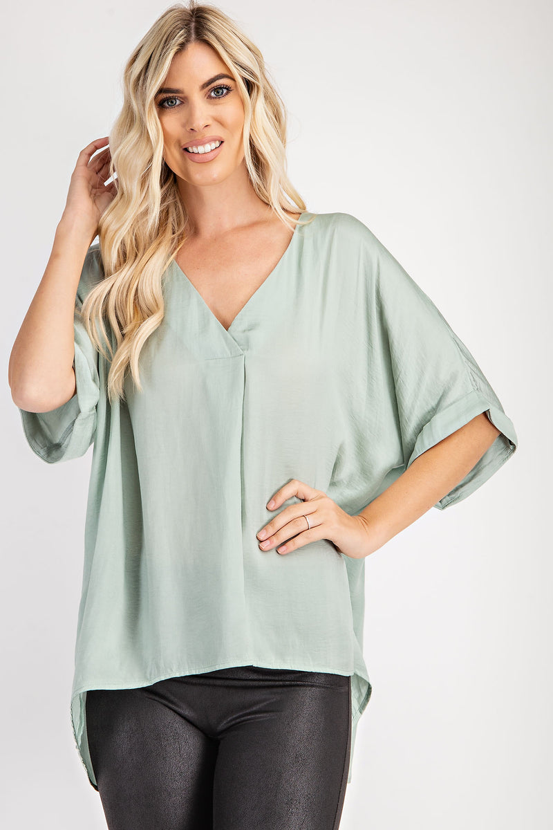 The Mara Top - Mint