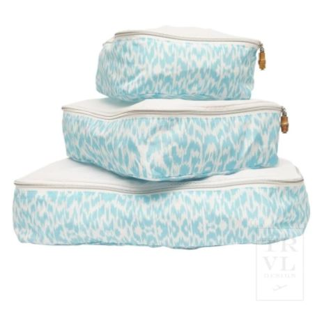 Packing Squad - Aqua Ikat