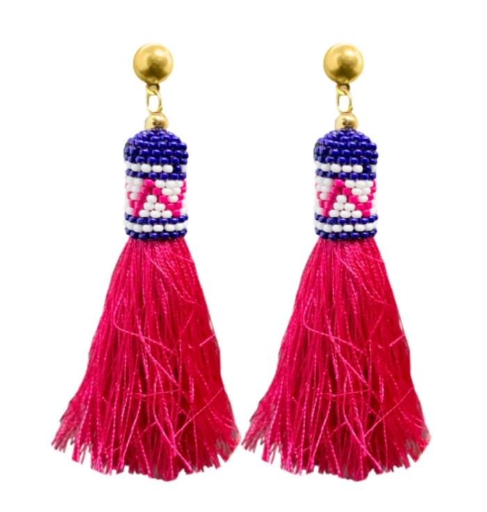 Under the Sea Tassel Earrings