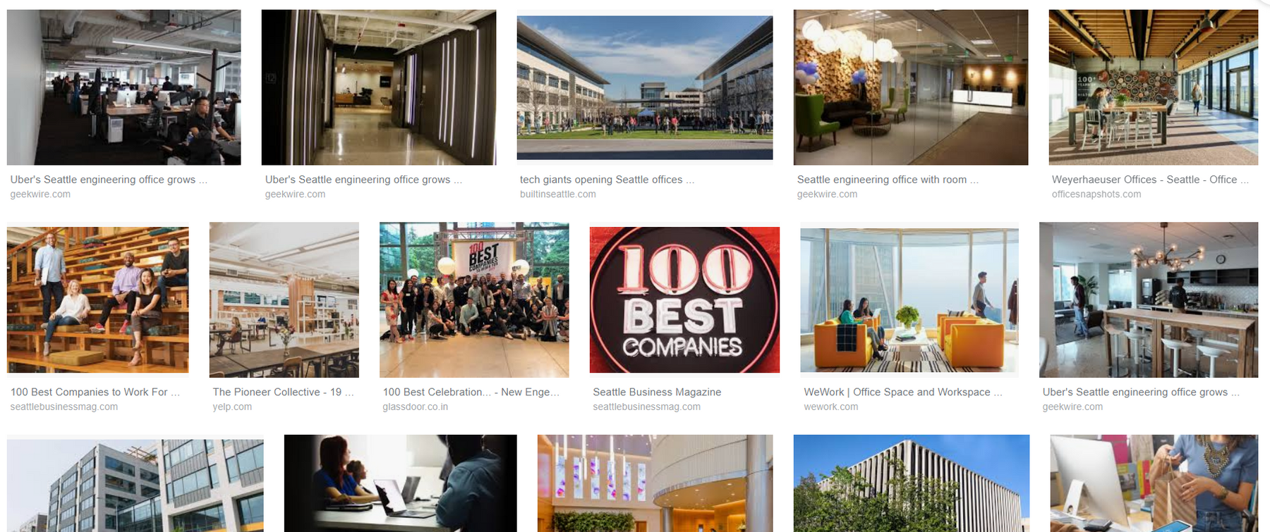 100 Popular offices in Seattle you should be aware off in 2019