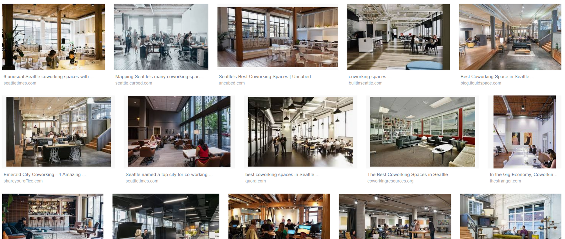 The best 10 co-working spaces in Seattle, WA USA