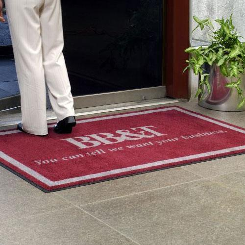 Indoor Logo Mats for Entrances and Workspaces