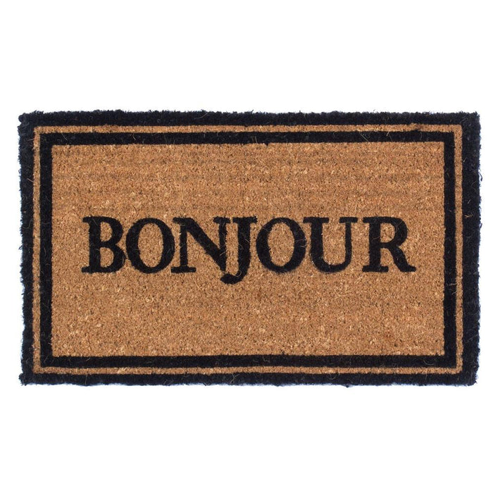 Bonjour Design Coco Doormats by Coco Mats N More