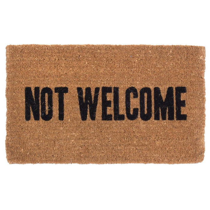 Not Welcome Design Coco Doormats by Coco Mats N More
