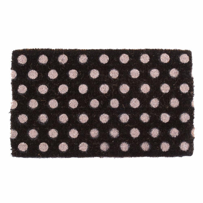 Polka Dots Design Coco Doormats by Coco Mats N More