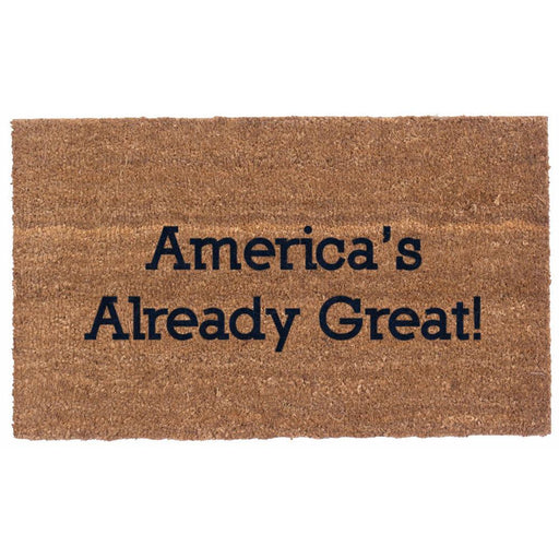 America -  Already Great Design Coco Doormats by Coco Mats N More