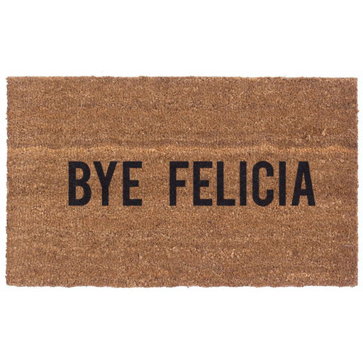 Bye Felicia Design Coco Doormats by Coco Mats N More