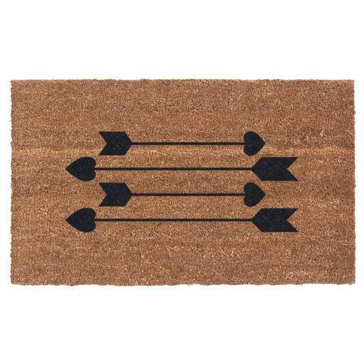Cupid's Arrows Design Coco Doormats by Coco Mats N More