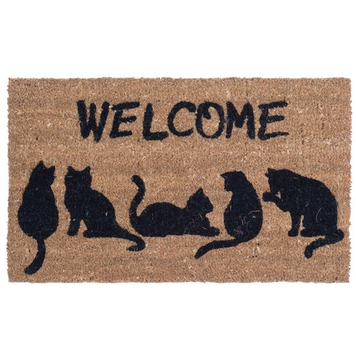 Cat's Tail Design Coco Doormats by Coco Mats N More