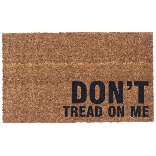 Don't Tread on Me Design Coco Doormats by Coco Mats N More