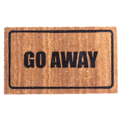 Go Away Design Coco Doormats by Coco Mats N More