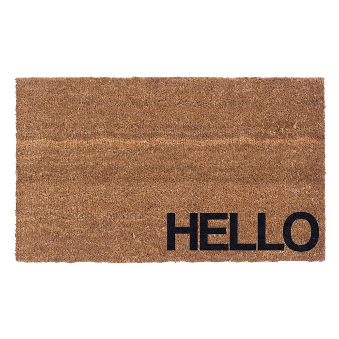 The Hello Design Coco Doormats by Coco Mats N More