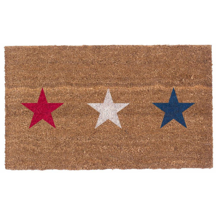 Three Stars Design Coco Doormats by Coco Mats N More
