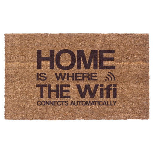 Automatic Wifi Design Coco Doormats by Coco Mats N More