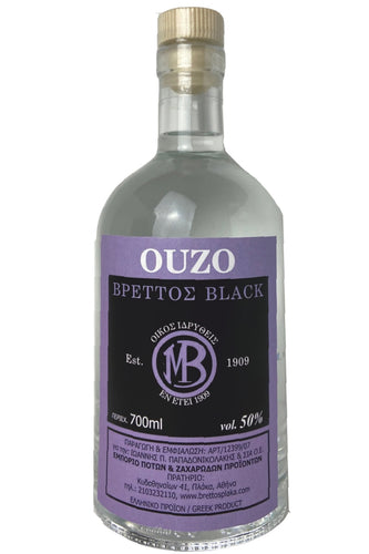 Ouzo Brettos Black Label, 700ml