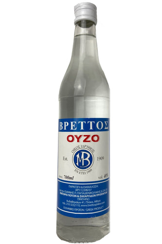 Ouzo Brettos Blue Label, 700ml