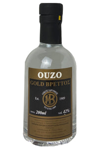 Ouzo Brettos Gold Label, 200ml