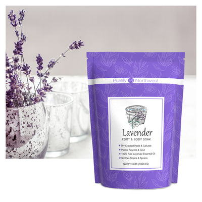 Lavender Foot Soak with Epsom Salt