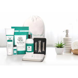 Five Part Gift Set: Tea Tree Oil Gift Set for Healthy Skin and Feet