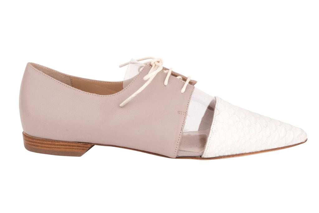 Miss Unique - Jamie Shoe (White) - OYSBY