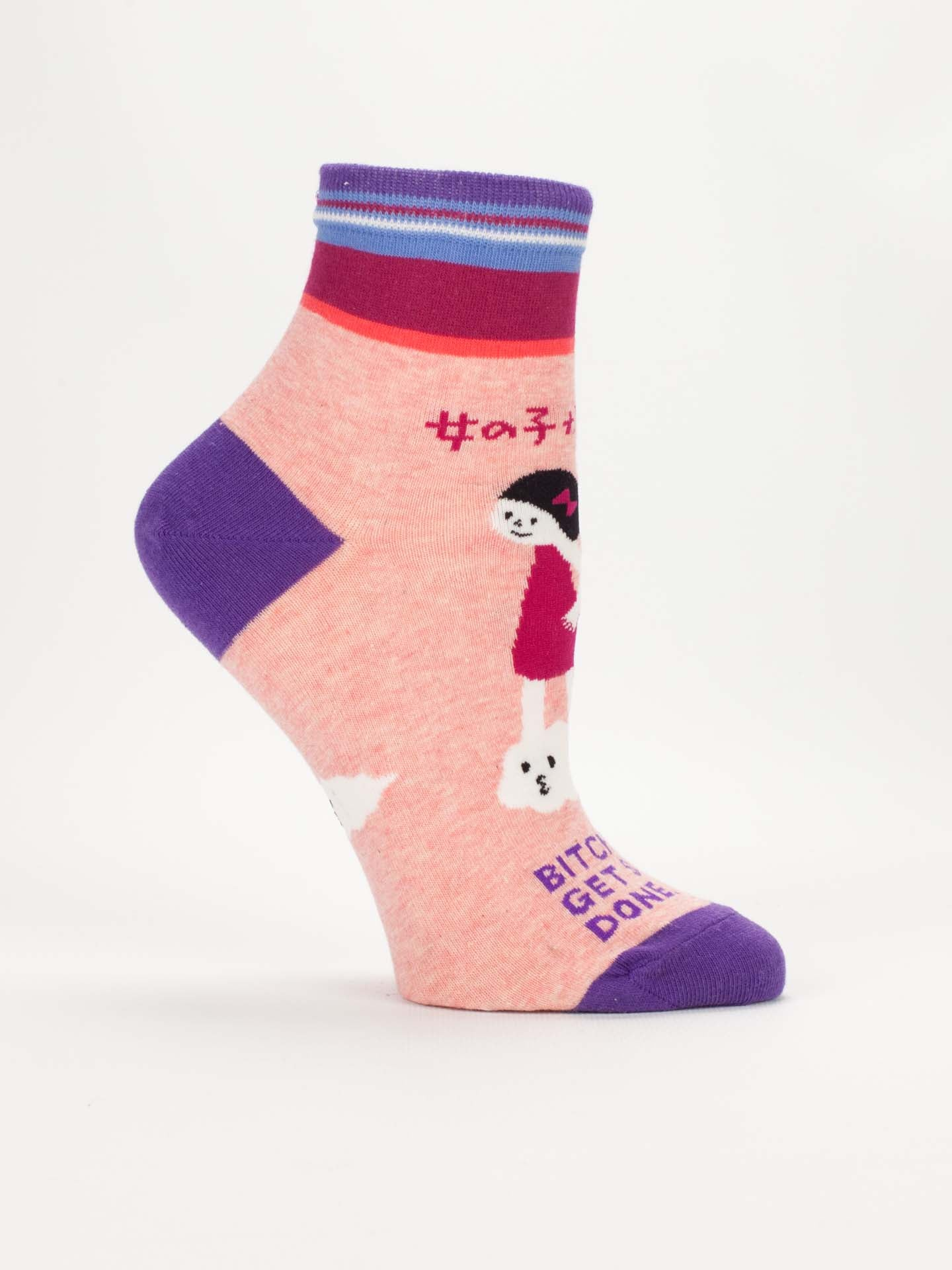 B****** Get Stuff Done Women'S Ankle Socks