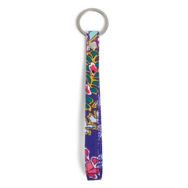 Iconic In The Loop Keychain Romantic Paisley