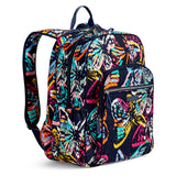 VERA BRADLEY ICONIC CAMPUS BACKPACK BUTTERFLY FLUTTER