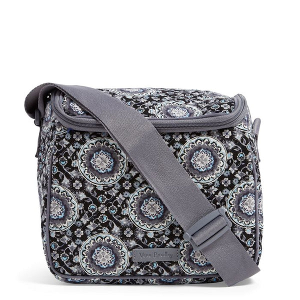ICONIC STAY COOLER CHARCOAL MEDALLION