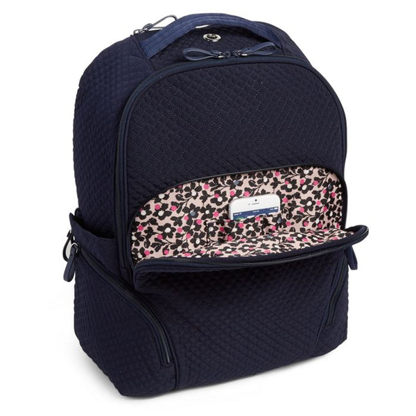 VERA BRADLEY ICONIC BACKPACK CLASSIC NAVY