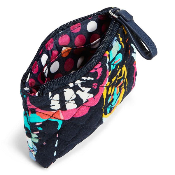 VERA BRADLEY ICONIC COIN PURSE BUTTERFLY FLUTTER - SALE -