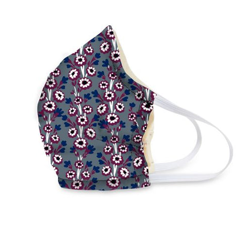 Heritage Swirls Cotton Face Mask