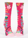 Hi, I Don't Care Women'S Crew Socks