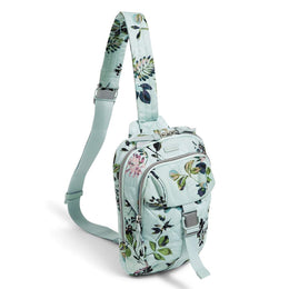 Utility Sling Backpack Seawater Blooms