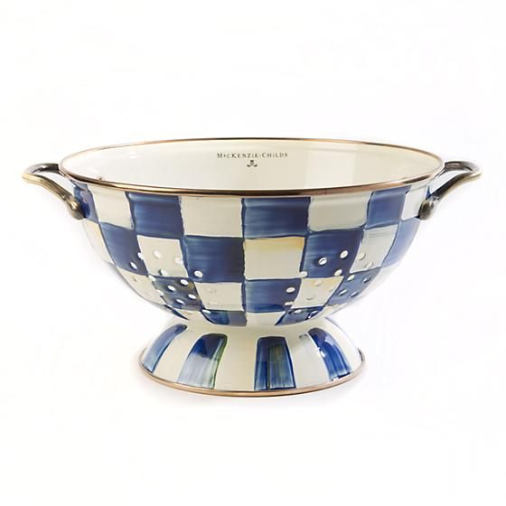 royal check colander