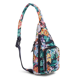 Mini Sling Backpack Happy Blooms