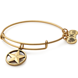 ALEX & ANI STAR OF STRENGTH BANGLE GOLD