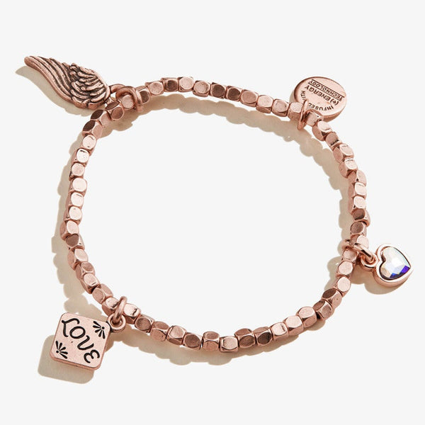 Love Multi Charm Beaded Bracelet