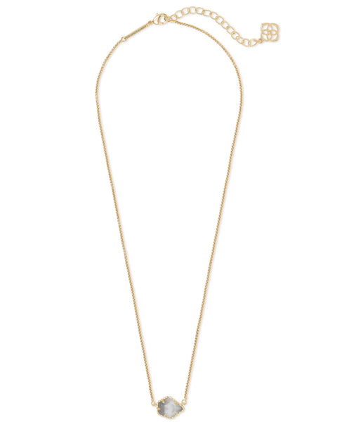 Tess Gold Slate Cat'S Eye Neck