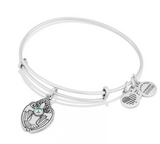 alex and ani silver dove bracelet