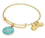 alex and ani arrows gold bracelet