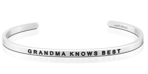 MANTRA BANDS GRANDMA KNOWS BEST BRACELET