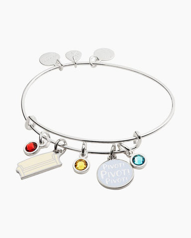 ALEX & ANI FRIENDS COUCH & PIVOT CLUSTER BANGLE BRACELET