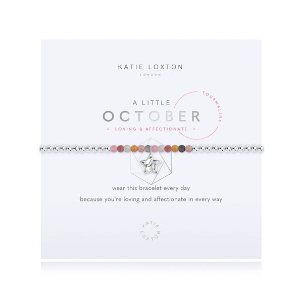A Little  Birthstone October Tourmaline Bracelet