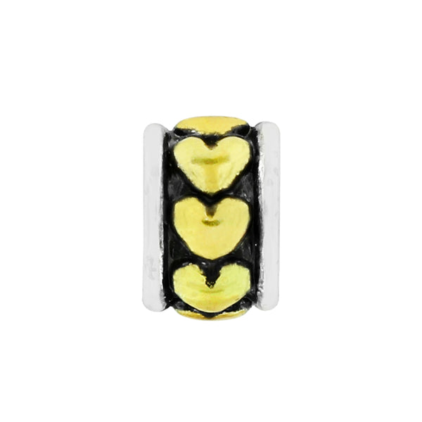 Abc Gold Hearts Spacer