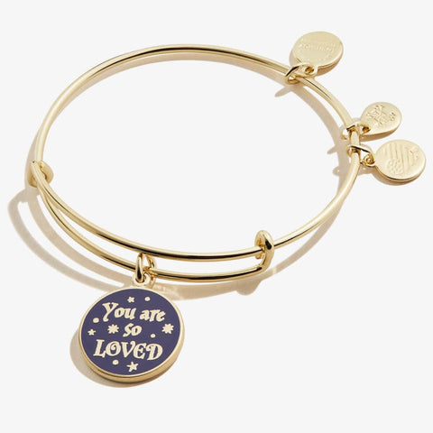 ALEX & ANI HARRY POTTER YOU ARE SO LOVED BANGLE BRACELET