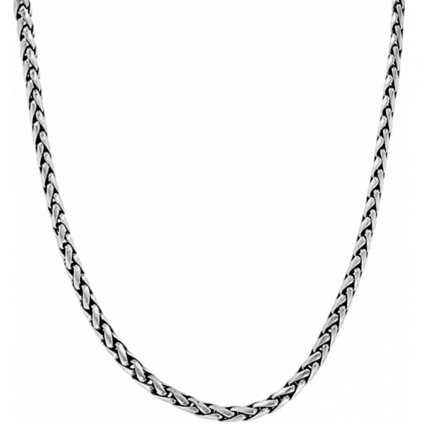 Abc Classic Short Necklace Silver