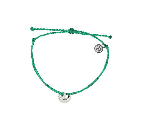 PURA VIDA SLOTH SILVER DARK GREEN